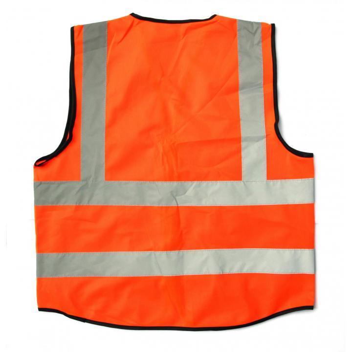 Áo phản quang cao cấp 4P ( đỏ cam)