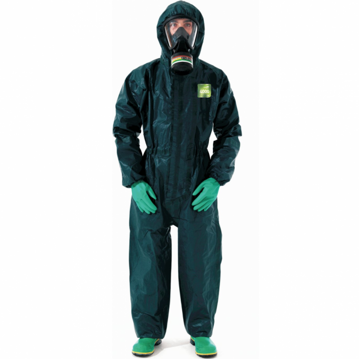 Quần áo bảo hộ Microchem 4000 size M