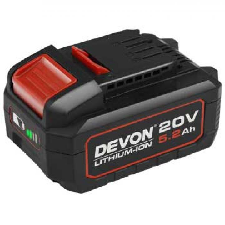 Pin Li-ion Devon 5150-Li-20-52