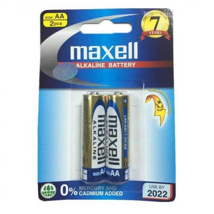 Pin Maxell Alkaline AA 10 vỉ