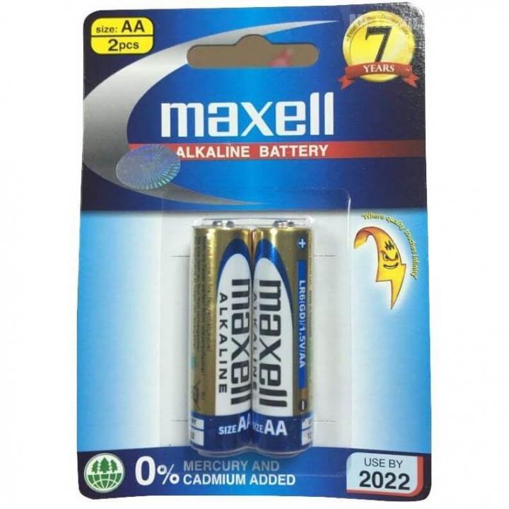 Pin Maxell Alkaline AAA 10 vỉ