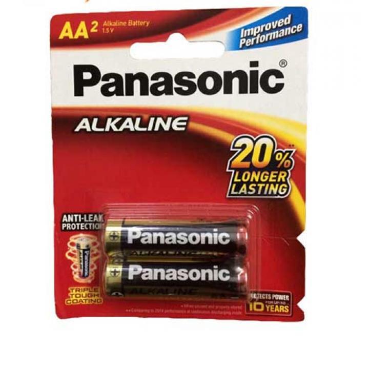 Pin Panasonic Alkaline AA 12 vỉ