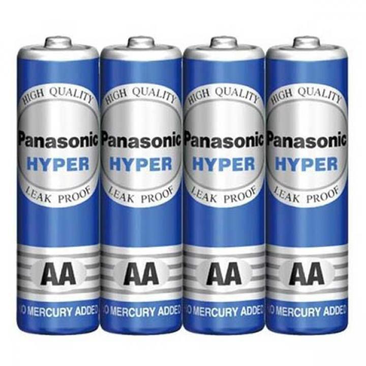 Pin Panasonic Cacbon AA xanh 15 vỉ