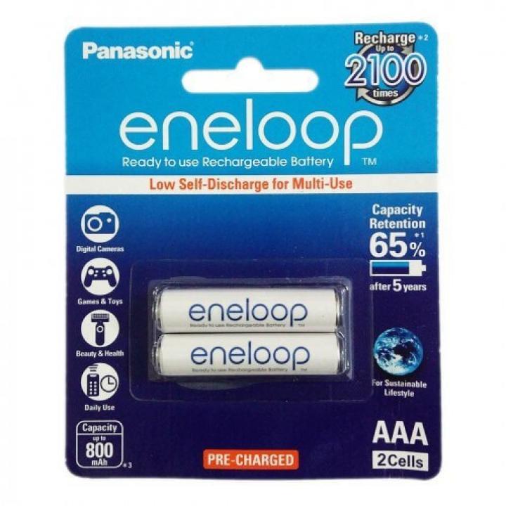 Pin Eneloop sạc AAA 800mAh 10 vỉ