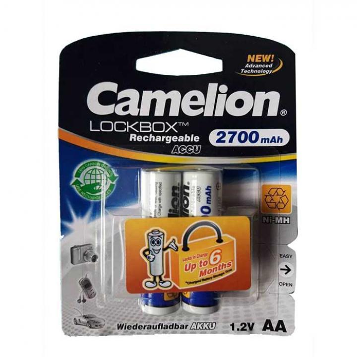 Pin Camelion sạc AA 2700mAh 12 vỉ