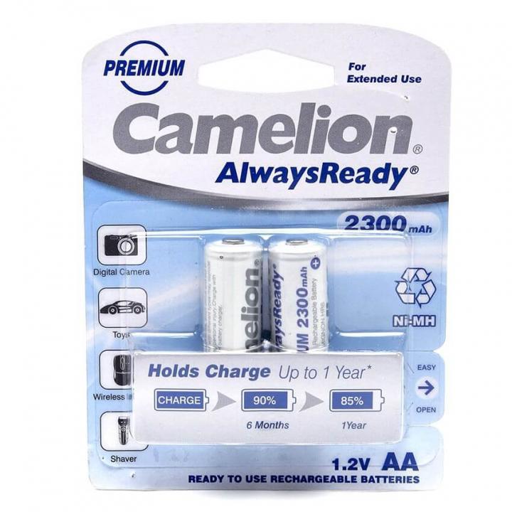 Pin Camelion sạc AA 2300mAh 12 vỉ