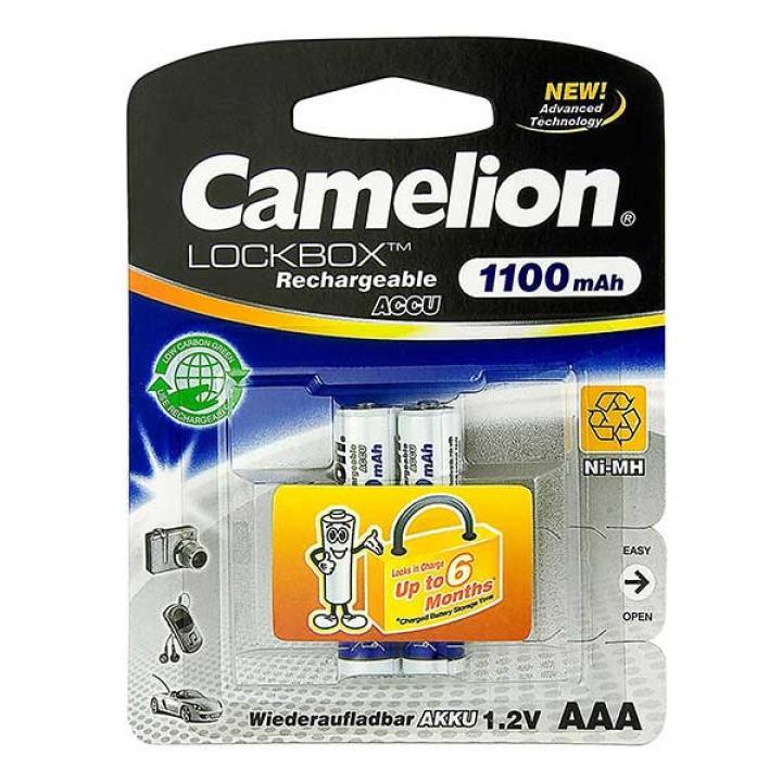 Pin Camelion sạc AAA 1100mAh 12 vỉ