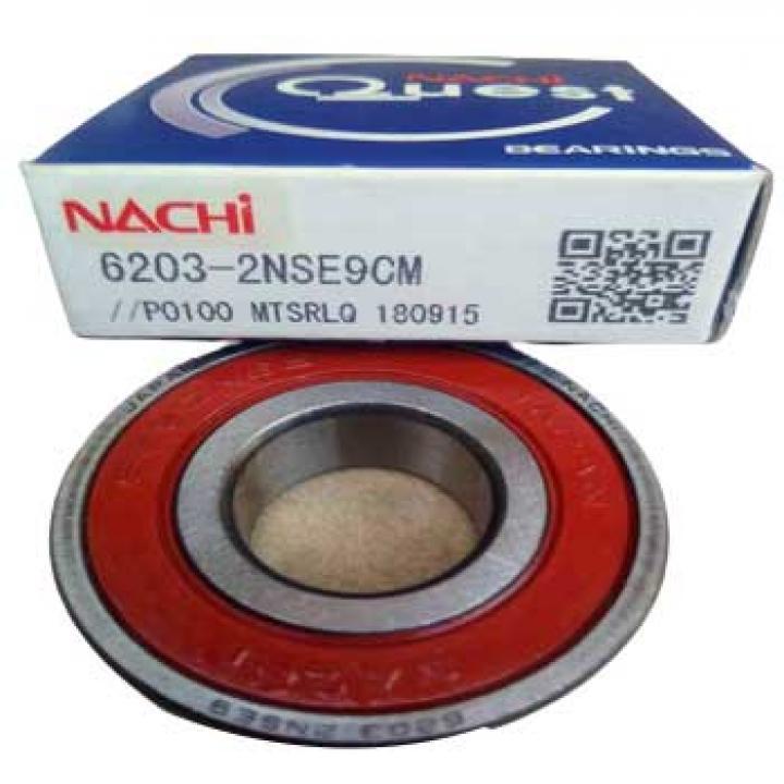Vòng bi tròn có rãnh sâu nắp nhựa Nachi 6203-2NSE9CM