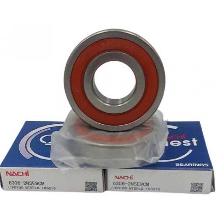 Vòng bi tròn có rãnh sâu nắp nhựa Nachi 6306-2NSE9CM