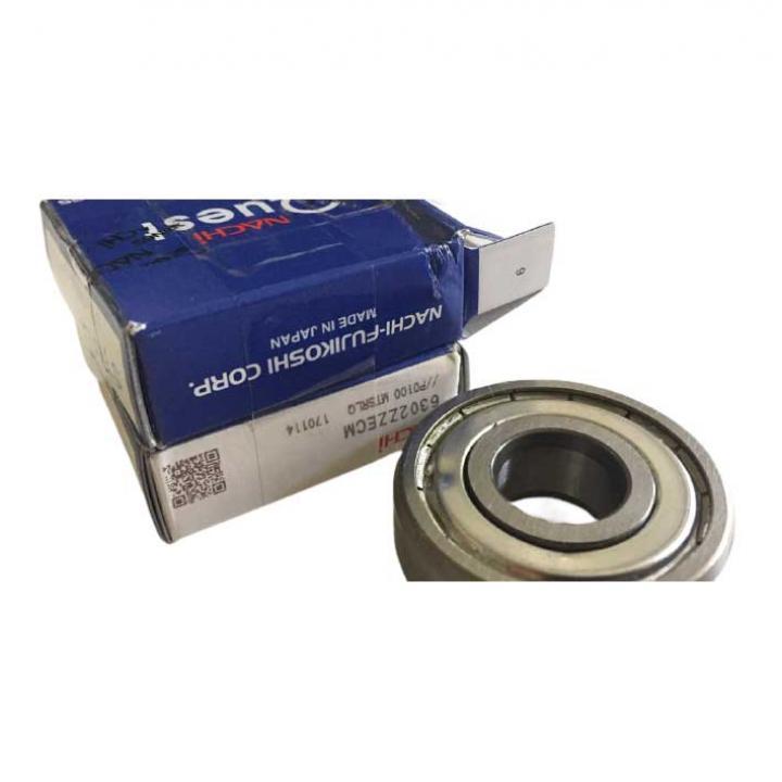 Vòng bi tròn có rãnh sâu nắp sắt Nachi 6305ZZECM