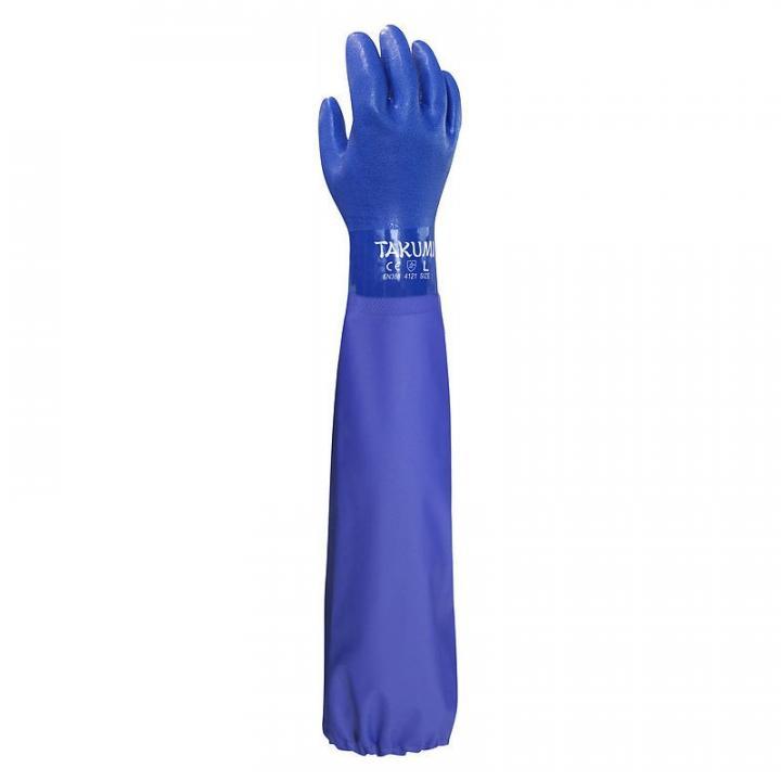 Găng tay chống hóa chất Takumi PVC-600X - size L