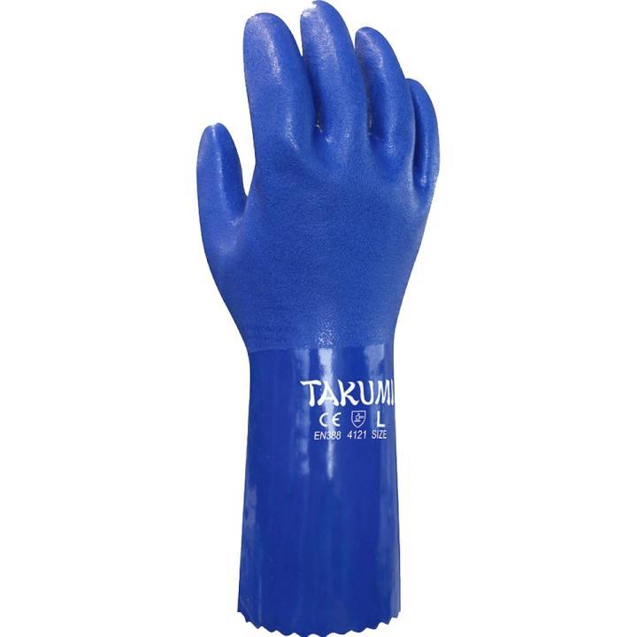Găng tay chống hóa chất Takumi PVC-600L