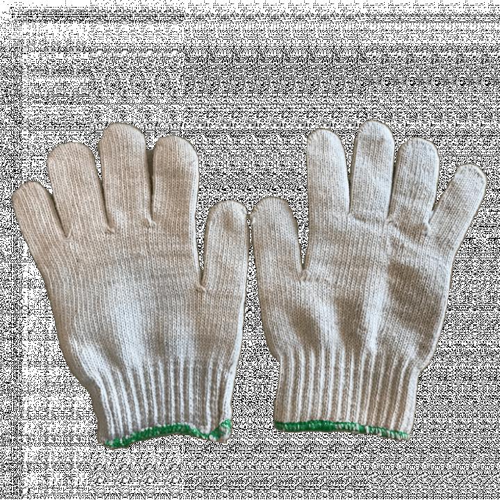 Bao tay len màu kem 100g/đôi
