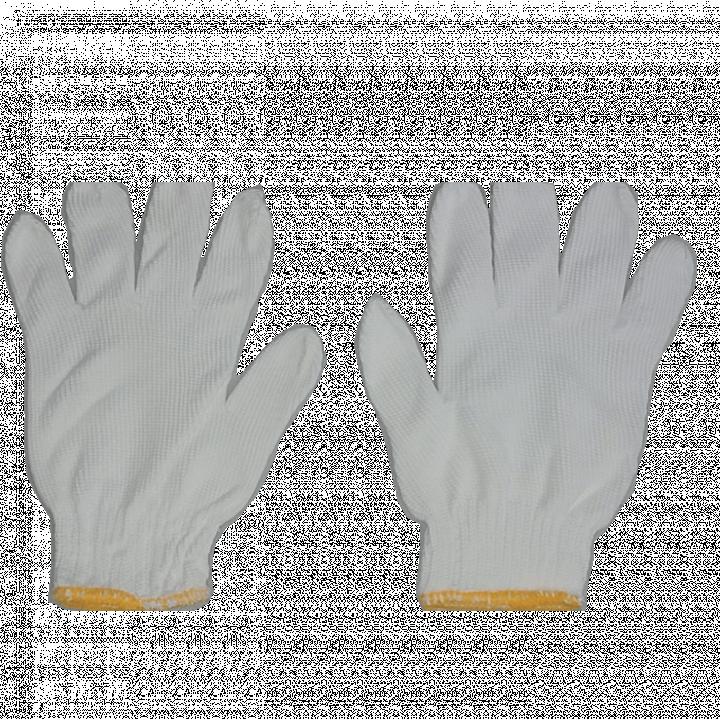 Bao tay len poly trắng 60g/đôi