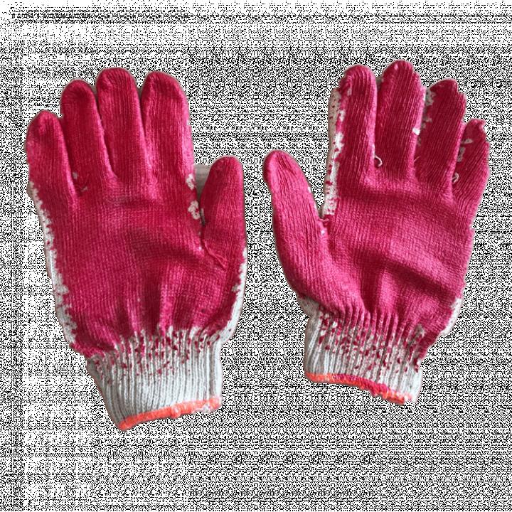 Bao tay len nhúng nhựa 1 mặt 40g/đôi