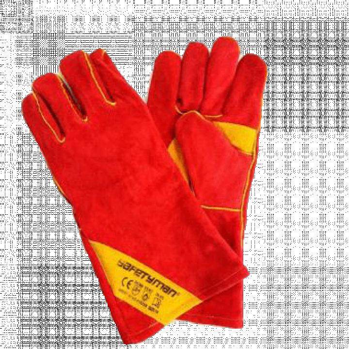 Găng tay da hàn Safetyman WS601