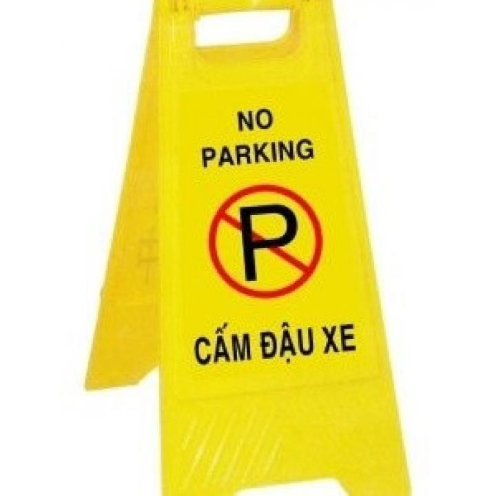 Biển cảnh báo cấm đỗ xe Bảo Bình