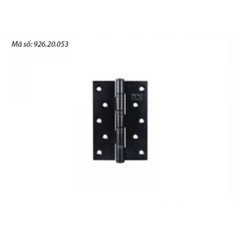 Bản lề lá Häfele 4BB 127x89x3mm màu đen 926.20.053