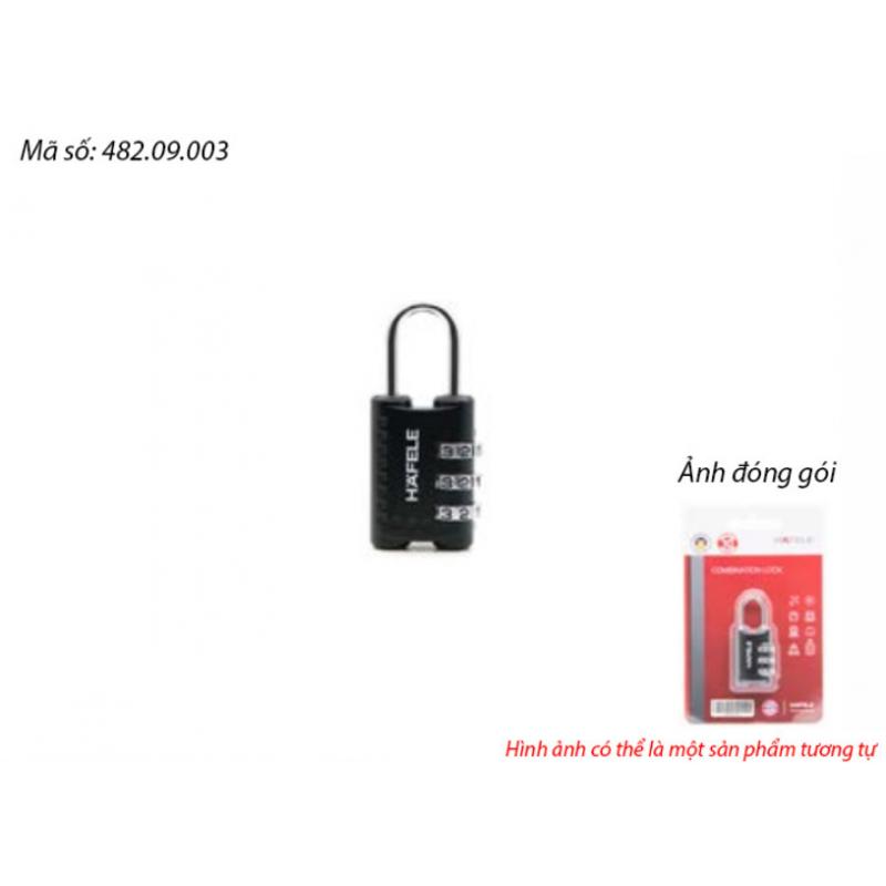 Ổ khoá số du lịch DIY Häfele 482.09.003