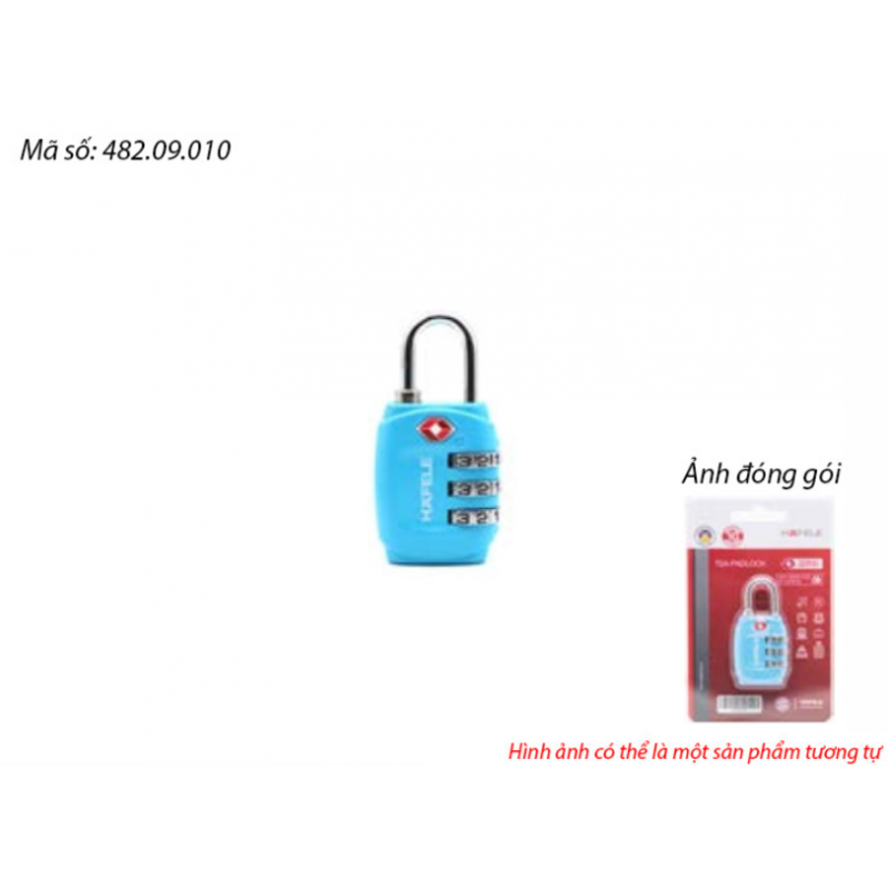 Ổ khoá số du lịch DIY Häfele 482.09.010