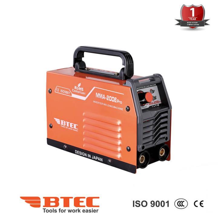 Máy hàn Inverter Btec MMA-200E Pro