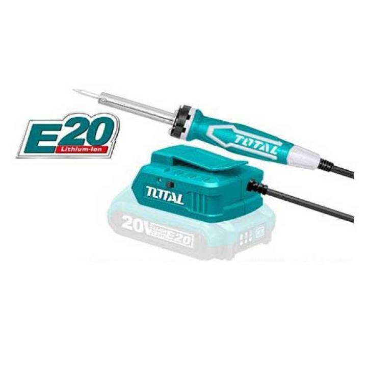 Máy hàn chì dùng pin Lithium E20 Total TSILIE2001