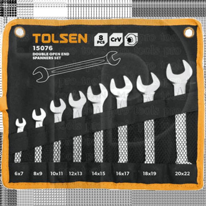 Bộ chìa khóa miệng - miệng Tolsen 15076