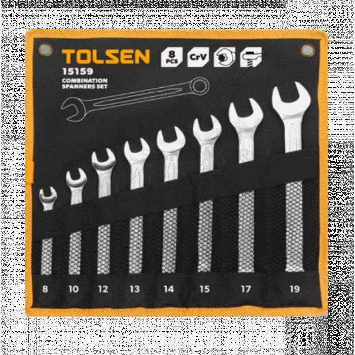 Bộ chìa khóa vòng - miệng Tolsen 15159