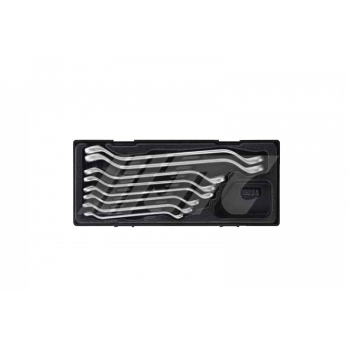Bộ cờ lê 2 tròng nghiêng 450 – 8 chi tiết JTC JTC-K6083
