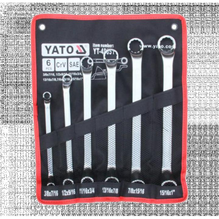 Bộ cờ lê 2 đầu tròng 6PCS Yato YT-48651