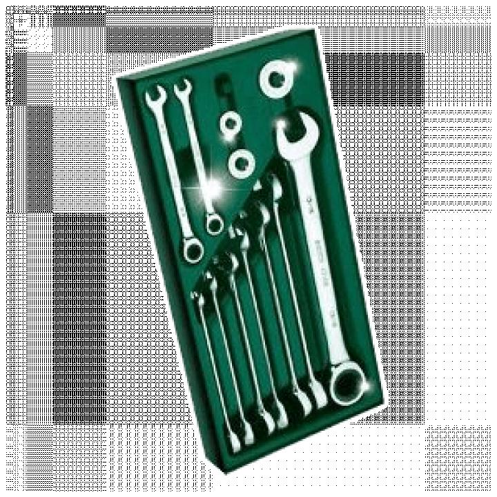 Bộ khay cờ lê tự động 2 đầu 14 chi tiết (hệ inch) SATA 09923