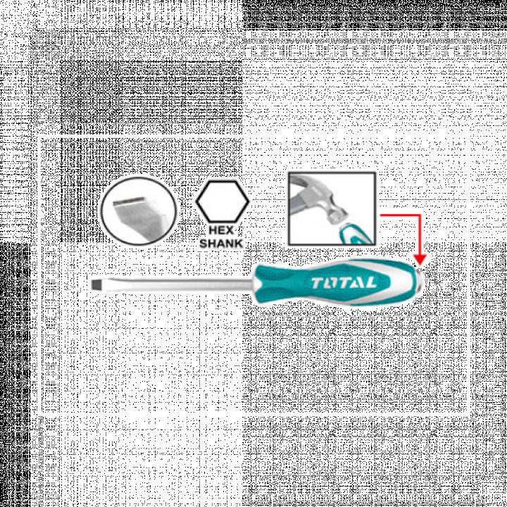 Tua vít bake đóng xuyên 144/T Total THTGTSPH210 0 6 mm / 100 mm