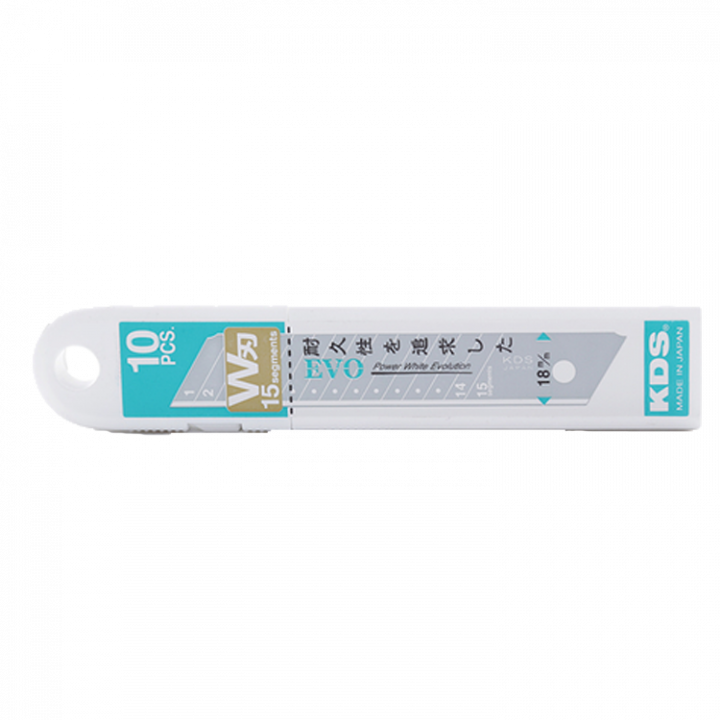 Lưỡi dao cho dao L-22 (Hộp 10 cái) KDS LB-10W EVO/LB-10WZ