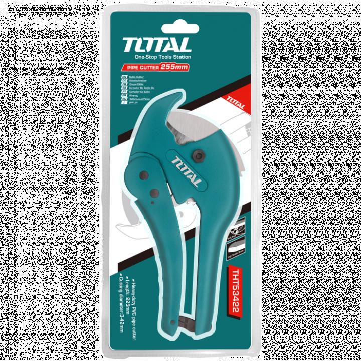 Dao cắt ống nhựa PVC Total THT53425 193 mm