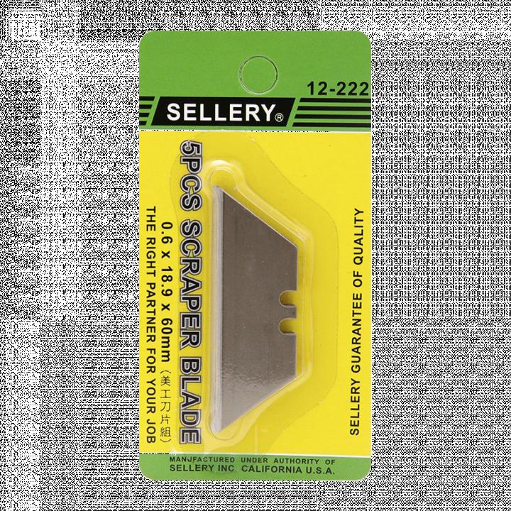 Vỉ mũi khắc (6 cái cán gỗ) Sellery 18-210