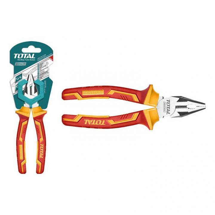 Kềm răng cách điện Total THTIP2161
