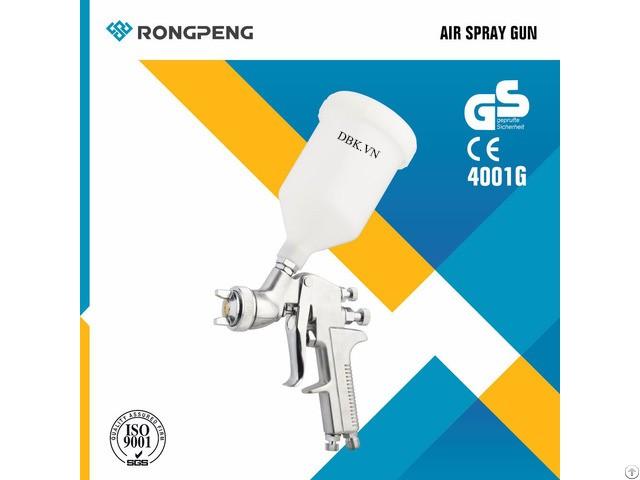 Súng phun sơn áp suất thấp 600cc RONGPENG 4001G