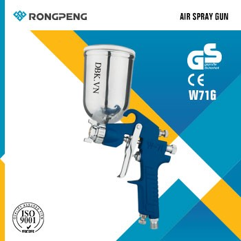 Súng phun sơn áp suất cao 400cc RONGPENG W-71G