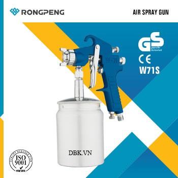 Súng phun sơn áp suất cao 600cc RONGPENG W-71S