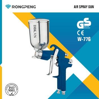 Súng phun sơn áp suất cao 400cc RONGPENG W-77G