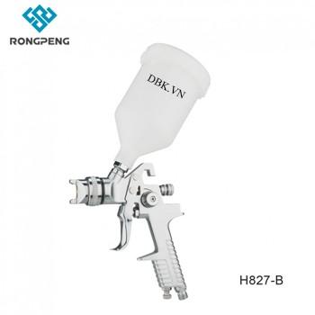 Súng phun sơn áp suất thấp 600cc RONGPENG H827-B