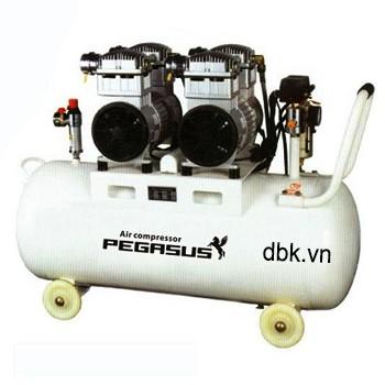 Máy nén khí không dầu, giảm âm PEGASUS TM-OF750-35L