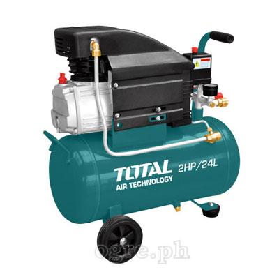 Máy nén khí dung tích 24 lít TOTAL TC120242 2.0HP