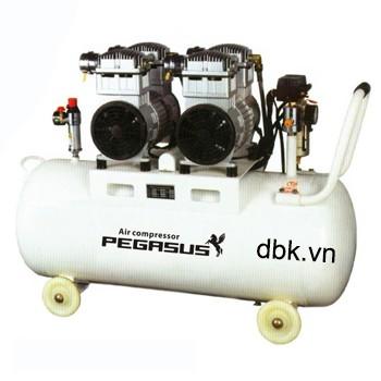 Máy nén khí không dầu, giảm âm PEGASUS TM-OF750x2-70L
