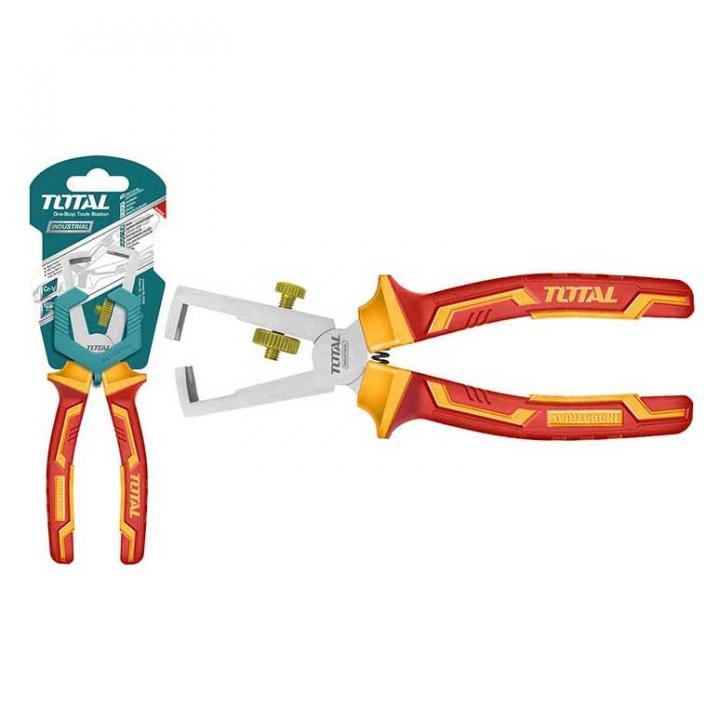 Kềm tuốt dây điện cách điện Total THTIP2661