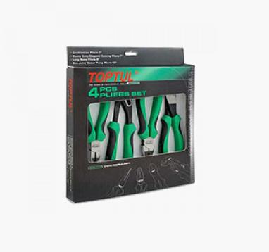 Bộ kìm xanh 4 món Toptul GTA04160