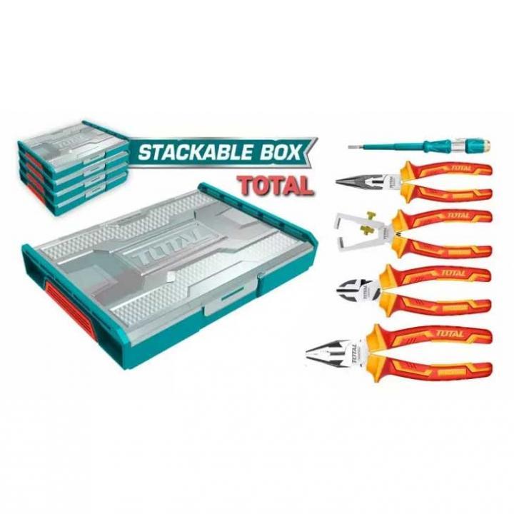 Bộ 05 công cụ cầm tay cách điện Total THKTV02P051