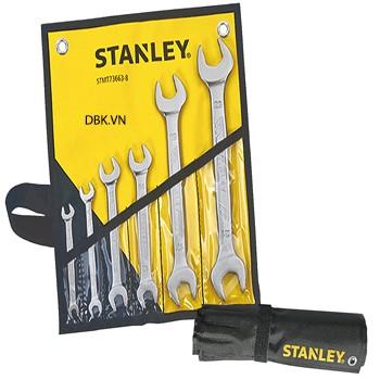 Bộ cờ lê hai đầu mở 6 chiếc 6-23mm Stanley 73-663