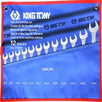 Bộ cờ lê vòng miệng 12 chi tiết Kingtony 1112MRN