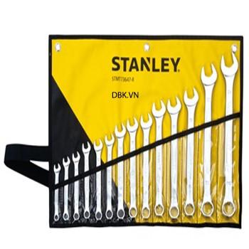 Bộ cờ lê đầu tròng, đầu mở 14 chiếc 8-24mm Stanley 73-647